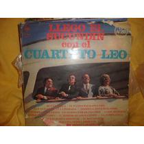 Vinilo Cuarteto Leo Llego El Sucundin P3