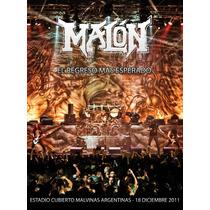Malon El Regreso Mas Esperado Cd + Dvd Nuevo Sellado