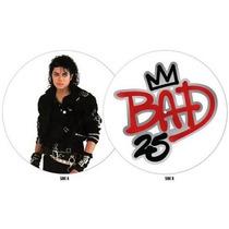 Michael Jackson Bad 25 Anniversary Picture Disc Import Nuevo