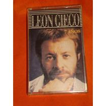 Leon Gieco * 7 Años * Cassette* Impec*1980
