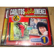 Carlitos La Mona Jimenez Discografia Vol 1 Cd Doble Sellado