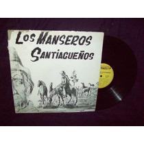 Los Manseros Santiagueños Vinilo Lp Los Manseros Santiague