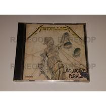 Metallica (cd) ... And Justice For All (arg) Muy Buen Estado