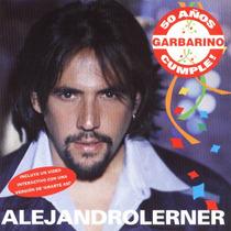 Alejandro Lerner Cd Edicion Limitada De Garbarino 50 Años