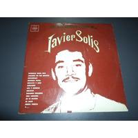 Javier Solis - Los Mas Grandes Exitos De * Disco De Vinilo
