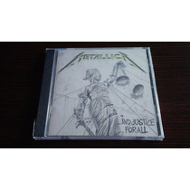 Metallica And Justice For All Cd Importado - Megadeth