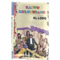 Kanto Kolombiano El Lobo Cassette Nuevo Cerrado