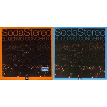 2 Cd Soda Stereo Ultimo Concierto Ayb Nuevos Sellados