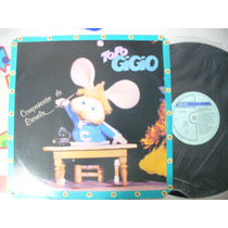 Topo Gigio Compañerito De Escuela Lp Vinilo Mexico 1988