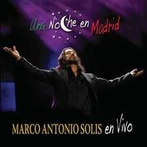 Marco Antonio Solis Una Noche En Madrid Cd + Dvd Original Cl