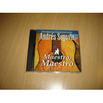 Andres Segovia Maestro Cd Descatalogado Guitarra Clasica