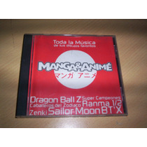 Manga Anime Cd Dragon Ball Sailor Moon Zenki Ranma1/2 Envios
