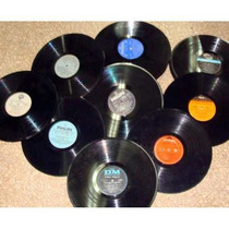 Discos De Vinilo Long Play Para Decoracion Lote 20 Unidades
