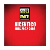 Vicentico - Hits 2002-2008 - Disco Compacto - Red&blue