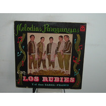 Los Rubies Melodias Paraguayas Vinilo Argentino