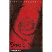 Ratones Paranoicos - Extasis Vivo - Cassette De Colección