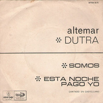 Altemar Dutra - Canta En Castellano - Disco Simple