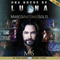 Marco Antonio Solis Una Noche De Luna Cd + Dvd Original Clic