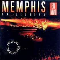 Memphis La Blusera En Vivo Gran Rex 1994 Cd
