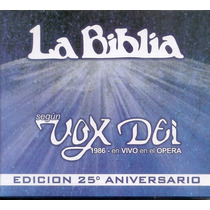 Vox Dei - La Biblia 25 Aniversario - Vivo En El Opera