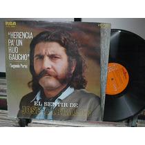 Jose Larralde*herencia Pa Un Hijo Gaucho 2parte*lp*argentina