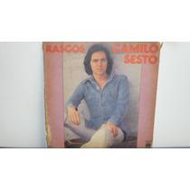 Lp Vinilo Camilo Sesto - Rasgos