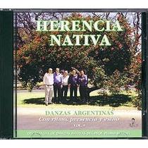 Danzas Argentinas Vol. 9 - Conjunto Herencia Nativa - Cd