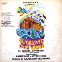 El Diluvio Que Viene - Jose A.trelles - Musical 2 Lp 1979