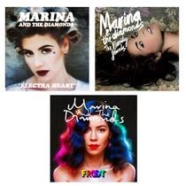 Marina & The Diamonds - Los 3 Albumes A Precio Increible