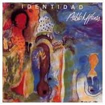 Pablo Milanes Cd Identidad 1993 Nuevo Descatalogado