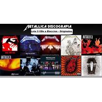 Lote 3 Cds A Eleccion - Metallica - Originales/ Envio X Oca.