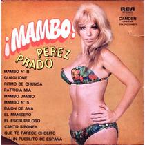 Perez Prado - Mambo - Lp Con Thelma Tixou En Tapa