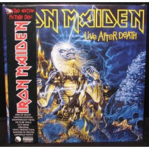 Iron Maiden - Live After Death - 2 Vinilos Importados