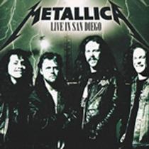 Metallica Live In San Diego Cd Importado