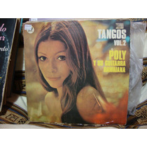 Long Play Disco Vinilo Poly Y Su Guitarra Hawaiana Tangos 2