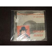 Cd Adrian Maggi Danzas Canciones Criollas Guitarra Polca Cri