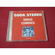 Soda Stereo - Obras Cumbres Cd Doble - Ind Arg