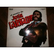 José Larralde - El Sentir De José Larralde - Vinilo 1968