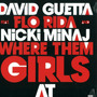 David Guetta Where Them Girls At Vinilo Maxi-remix En Stock