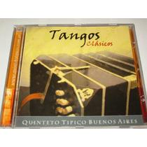 Cd Quinteto Tipico Buenos Aires Tangos Clasicos