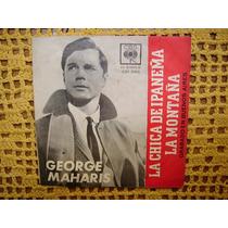 George Maharis / La Chica De Ipanema Simple Vinilo Con Tapa