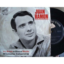Juan Ramon - La Banda - Ep Con Tapa Ilustrada - Año 1967