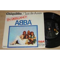 Abba Chiquitita En Castellano Simple C/tapa Argentino