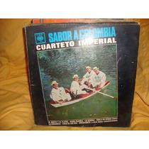 Vinilo Cuarteto Imperial Sabor A Colombia P3