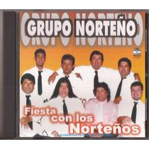 Grupo Norteño Cd Fiesta Con Los Norteños Cd Nuevo