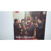 Lp Vinilo Los Cantores Del Alba - Valses Y Serenatas