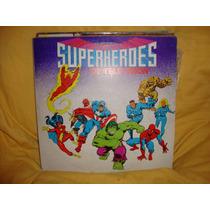 Manoenpez Vinilo Superheroes De Television Nuevo