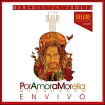 Cd+dvd Marco Antonio Solis Por Amor A Morelia Open Music