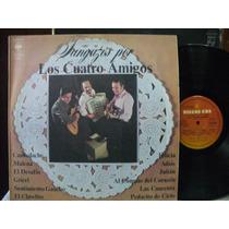 Tangazos Por Los Cuatro Amigos Lp Vinilo Tango