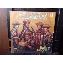 Vinilo Lp Los Luceros Colombianos Baile Y Alegria